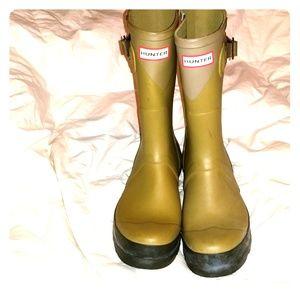 HUNTER rain boots 10 men's